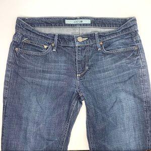 JOE'S JEANS Straight Leg Jeans Med/Dk Wash - Sz 29